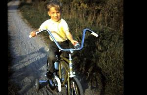 Jeff with his brand new bike.